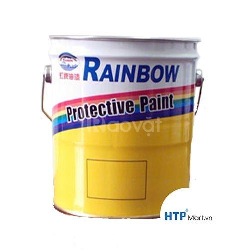 Sơn chịu nhiệt Rainbow 600 độ màu bạc giá tốt cho công trình