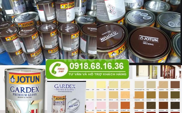 Công ty chuyên bán sơn dầu jotun gardex bóng tại Bình Phước