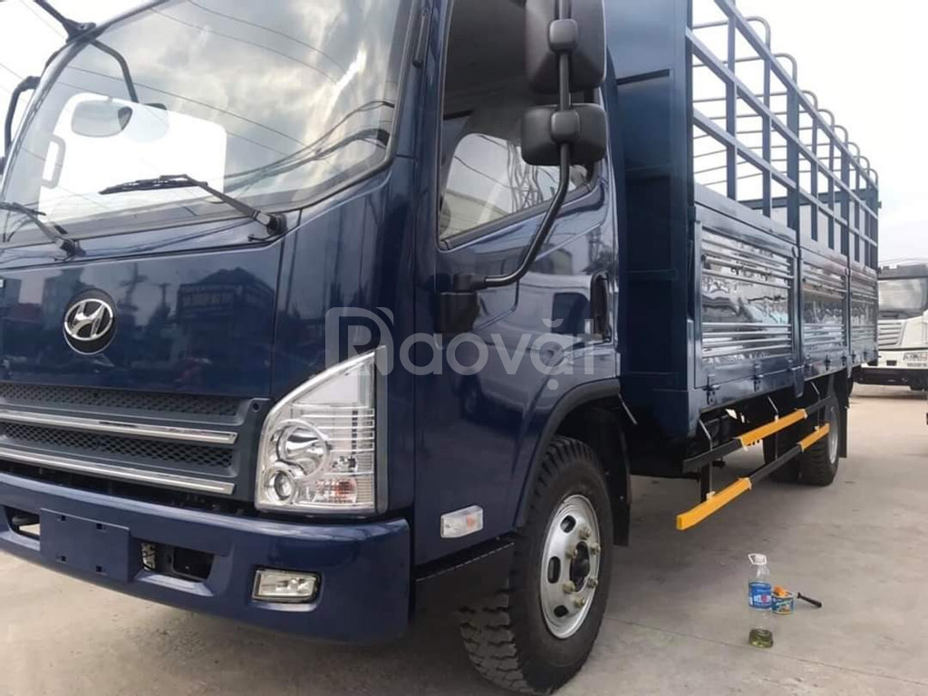 Xe tải faw 7.3 tấn thùng bạt 6m3-faw 7.3 tấn máy Hyundai