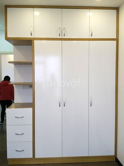 Sản xuất tủ bếp, tủ quần áo, tủ kệ, gường, bàn kệ