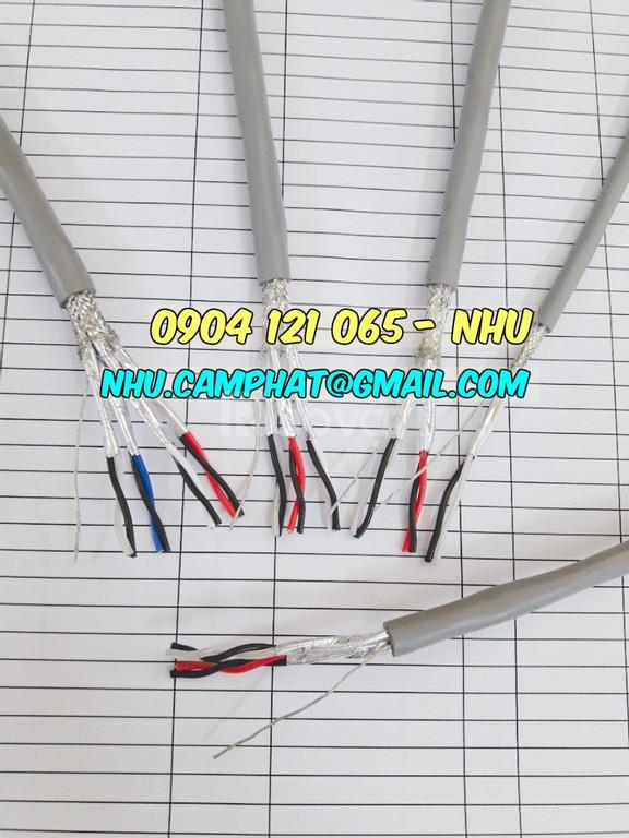 Cáp tín hiệu vặn xoắn 2p18awg, cáp điều khiển altek kabel