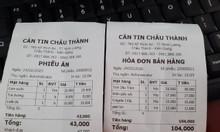 Máy tính tiền dành cho căn tin tại  bệnh viện Châu Thành