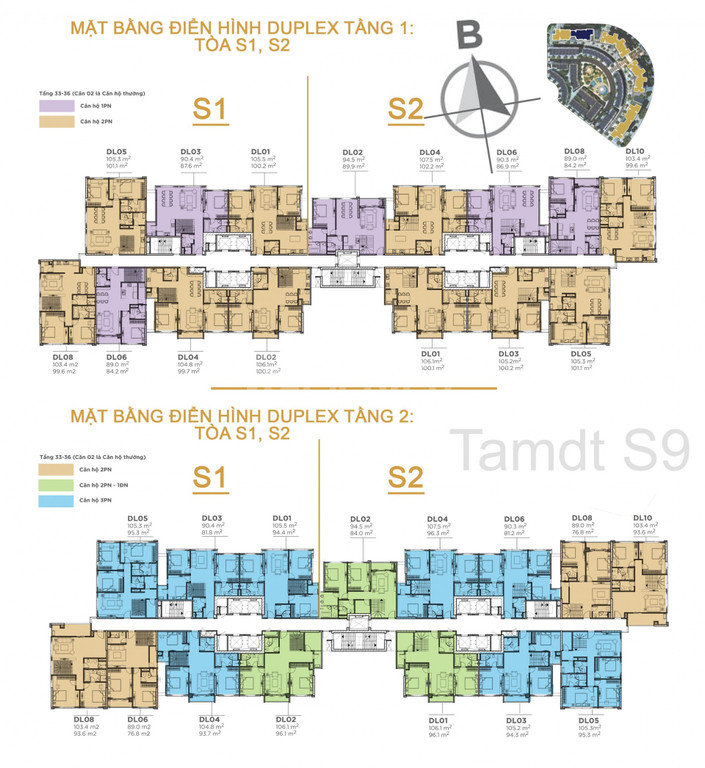Căn Duplex View Sông Hồng Duy Nhất Tại Sunshine city giá 7.38 tỷ