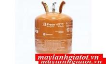 Bán giá đại lý gas Lạnh Chemours Freon R407C Trung Quốc 11,35kg