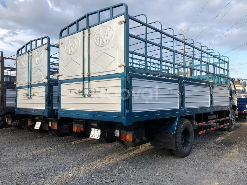 Xe tải chiến thắng 6t5 thùng bạt 6m3 giá tốt