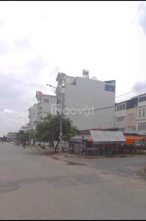 Cần bán lô đất ODT ngay đường lớn Lê Cơ. Đối diện, các quán ăn.