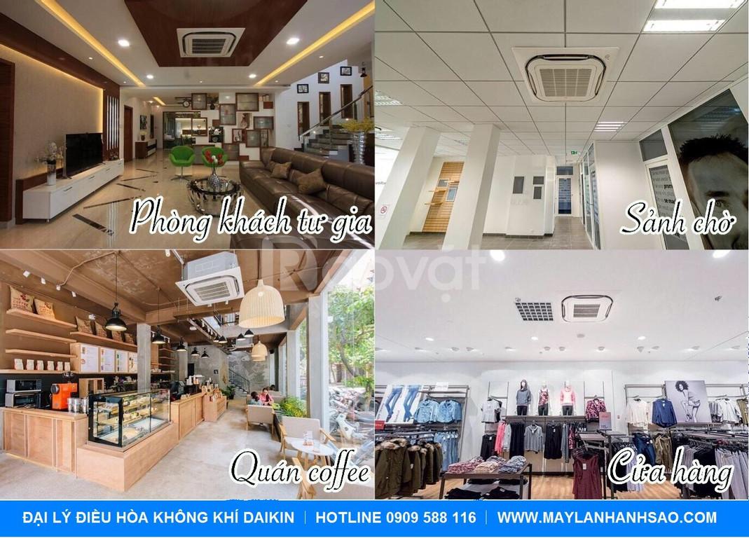 Chuyên lắp đặt máy lạnh âm trần Daikin cho quán café, club, phòng trà