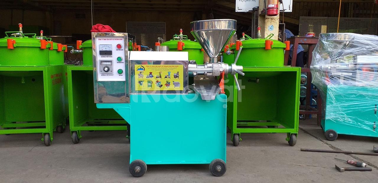 Máy ép dầu dừa Bình Minh - năng suất 25kg/giờ