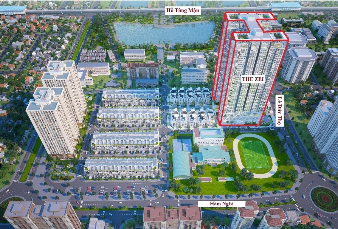 Bán căn hộ thông tầng (Duplex) 186m2 - dự án The Zei - 8 Lê Đức Thọ