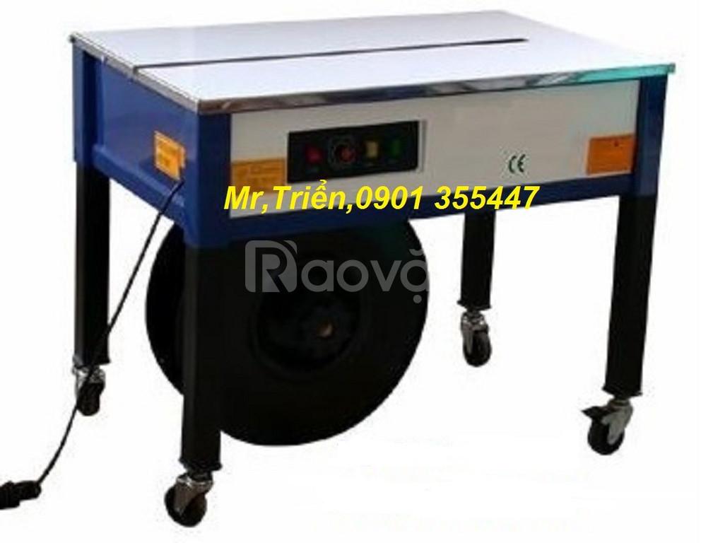 Máy đai niềng thùng chính hãng Strapack D-56 giá rẻ Tiền Giang