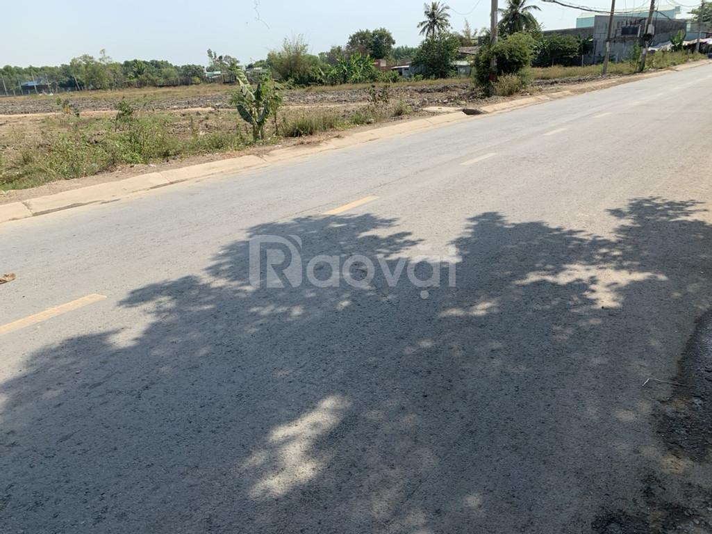 Đất nền mặt tiền đường Hoàng Phan Thái huyện Bình Chánh 25tr/m2