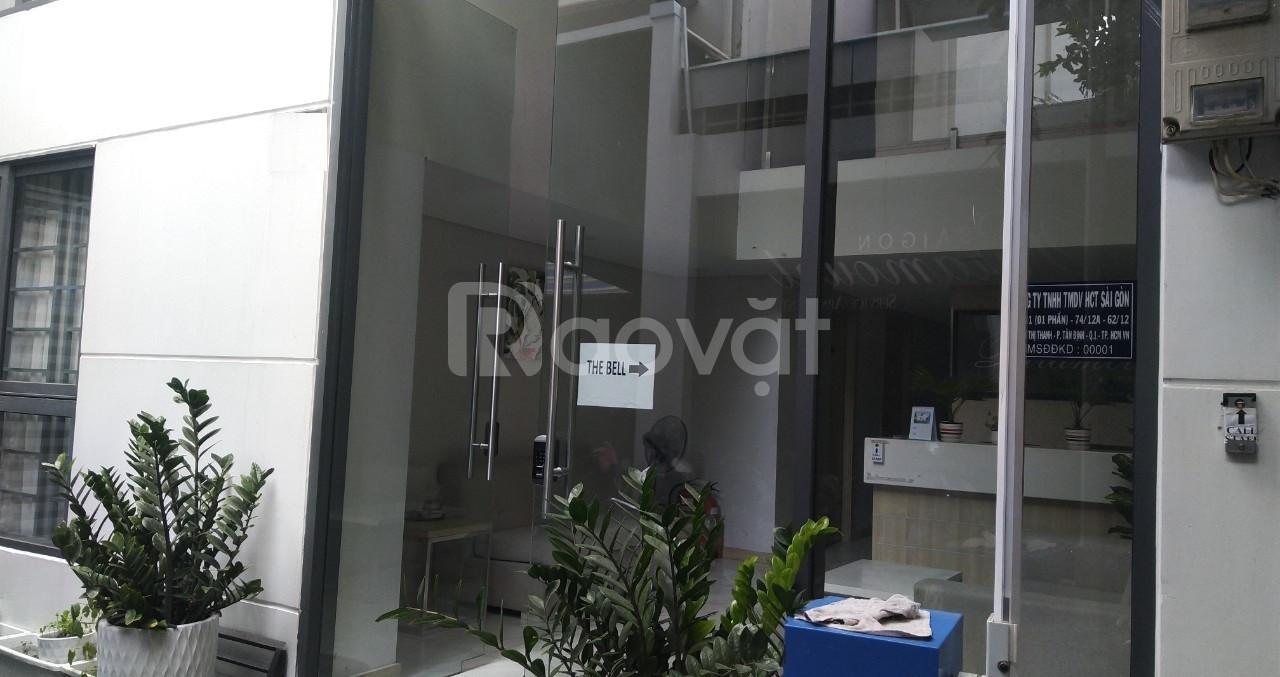 Bán gấp nhà Thạch Thị Thanh, Tân Đinh Q1, có 21 căn hộ dịch vụ