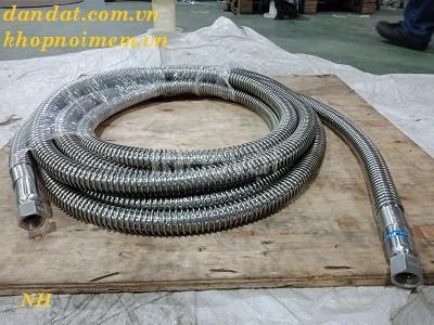 Hcm ống mềm chống rung inox, ống mềm inox 304, khớp nối ống mềm inox