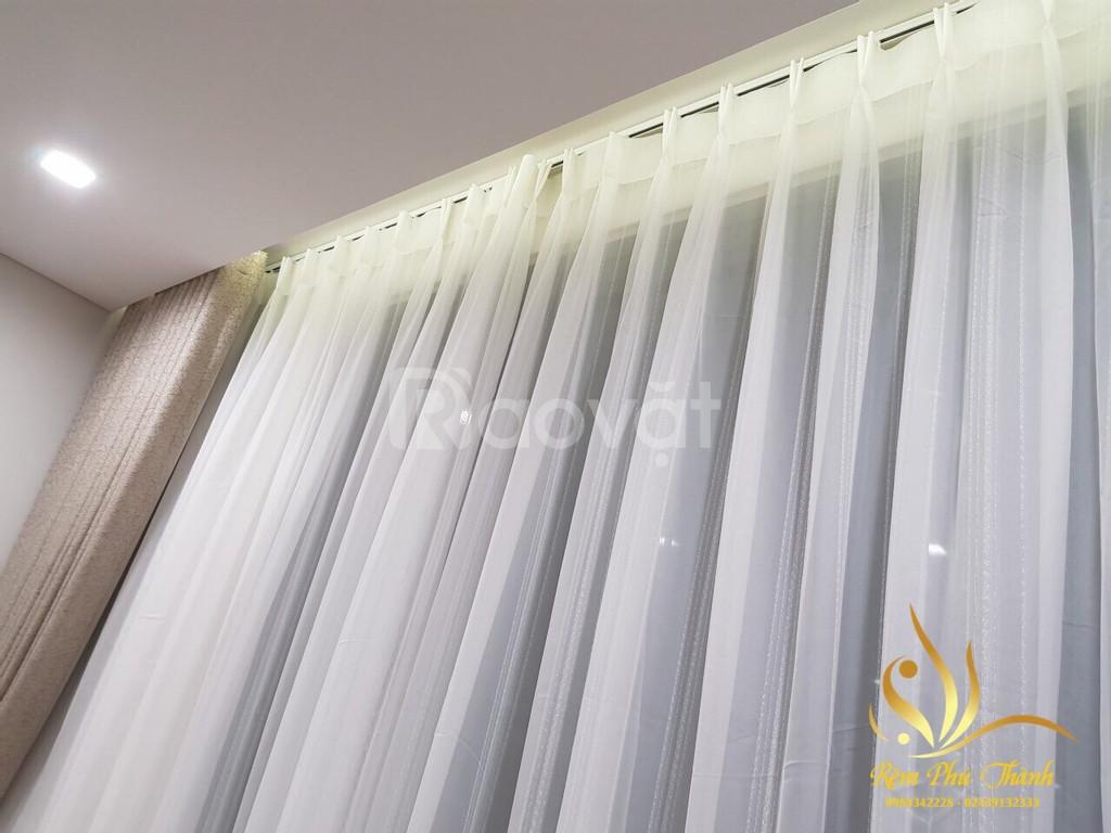 Rèm vải Hàn Quốc Cassis 01 cao cấp tại Thành phố Hoàng gia Royal City