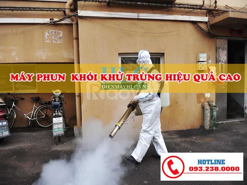 Máy phun khử trùng diệt sâu bệnh dạng khói hiệu quả