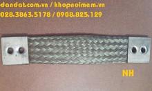 Các loại thanh đồng mềm mạ thiếc và dây đồng bện đục lỗ 2 đầu