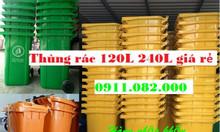 Bán thùng rác 240 lít giá rẻ tại Kiên Giang