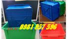 Hộp nhựa A3, thùng nhựa công nghiệp, sóng nhựa bít (ảnh 2)