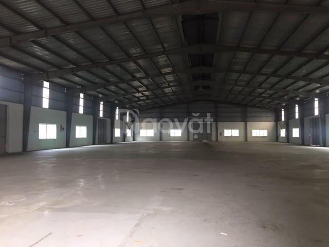 Cho thuê kho xưởng DT 1000m2 KCN Đài Tư Long Biên Hà Nội.