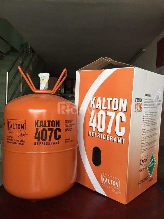 Phân phối sỉ và lẻ gas lạnh Kalton R407C Trung Quốc 11,3 Kg