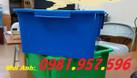 Hộp nhựa A3, thùng nhựa công nghiệp, sóng nhựa bít (ảnh 3)