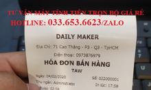 Bán máy tính tiền cho quán trà sữa, trà chanh tại Đà Nẵng