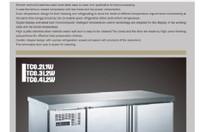 Tủ lạnh bàn 2 cánh làm lạnh bằng quạt gió