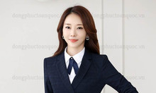 Nhận may đồng phục áo vest nữ công sở mặc đẹp cho mọi vóc dáng