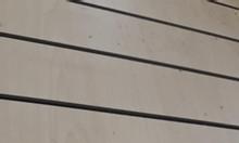 Tấm vách treo phụ kiện điện thoại - Tấm gỗ Slatwall