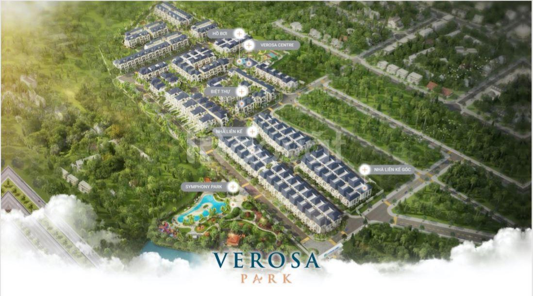 Bán biệt thự gđ 1 Verosa Park Khang Điền Q2, Q9- HTLS 0% nhận nhà