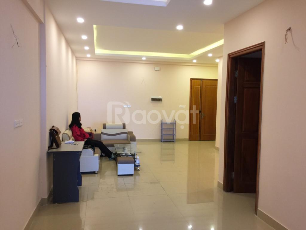 Cho thuê căn hộ có 2 ngủ sẵn tủ bếp căn góc view đẹp dt 90m ở luôn