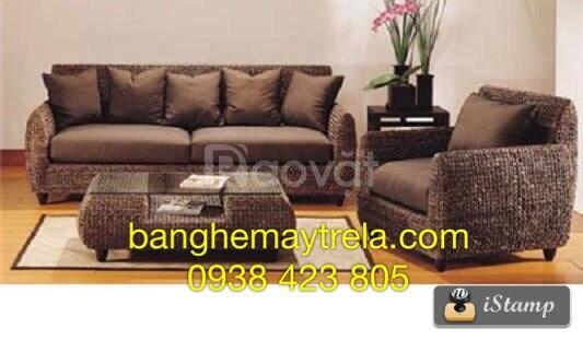 Bàn ghế sofa lục bình phòng khách