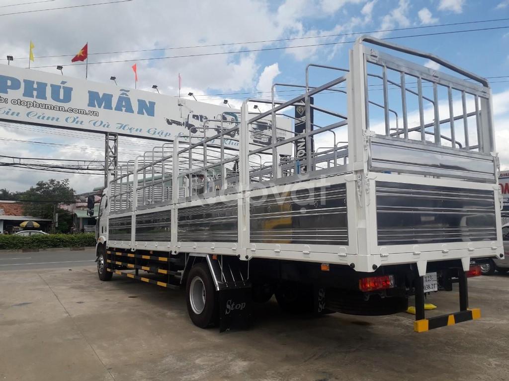 Xe faw 7.25 tấn thùng dài 9m7 chở bao bì - Trả góp lãi xuất thấp
