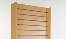 Các mẫu tủ gỗ trưng bày sản phẩm xoay tự động