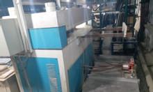 Thanh lý máy dập thủy lực 4 trụ, 120 tấn sử dụng trong ngành da giầy