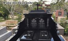Mộ đá granite đẹp, mẫu lăng mộ bằng đá granite