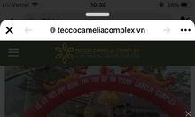 Chuẩn bị mở bán căn hộ Tecco camelia complex Thái Nguyên