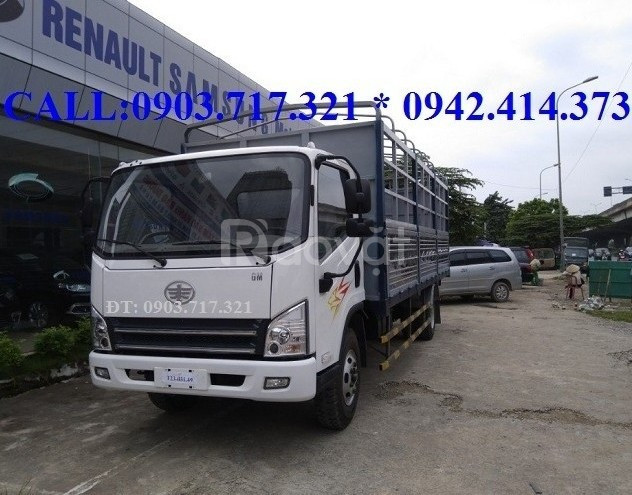 Bán xe tải Faw 8 tấn thàng 6m3 động cơ Hyundai HD72 máy êm mạnh giá rẻ