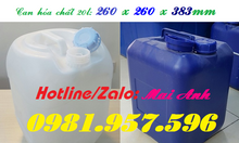 Can nhựa 20l, can nhựa HDPE, can nhựa hóa chất