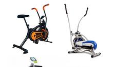 Xe đạp tập thể dục tại nhà, xe đạp tập có ghế tựa lưng cho người già