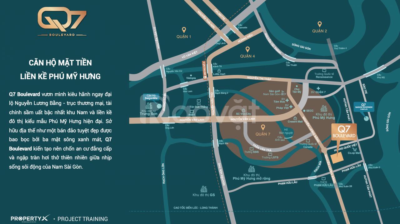 Suất nội bộ còn vài căn hộ cao cấp 2PN Q7 Boulevard chỉ từ 2,3 tỷ/căn