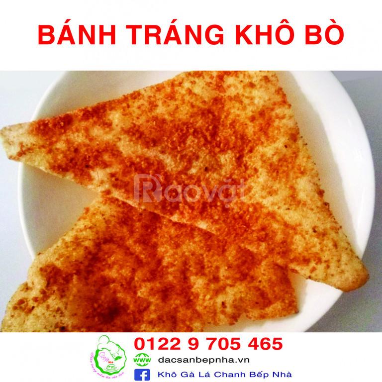 Ăn vặt Bếp Nhà - Khô gà lá chanh - Bánh tráng mắm ruốc (ảnh 6)