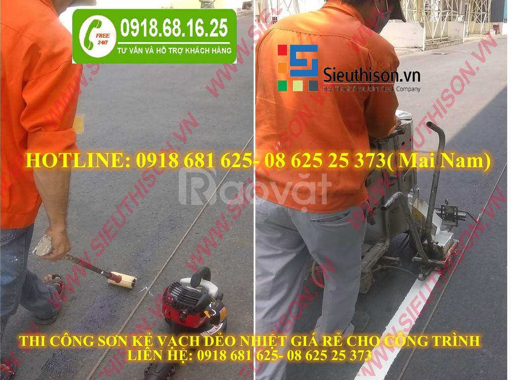 Địa chỉ uy tín cung cấp sơn kẻ vạch đường giá rẻ tại Hồ Chí Minh