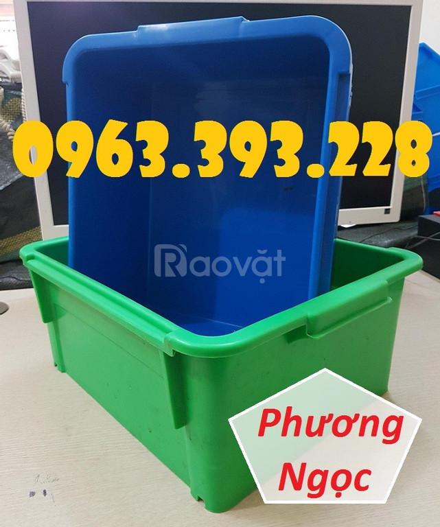 Thùng nhựa đặc A3, khay nhựa chứa đồ, khay nhựa A3
