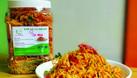 Ăn vặt Bếp Nhà - Khô gà lá chanh - Bánh tráng mắm ruốc (ảnh 1)