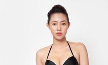 Bộ bikini cạp cao đen cổ điển BKN93
