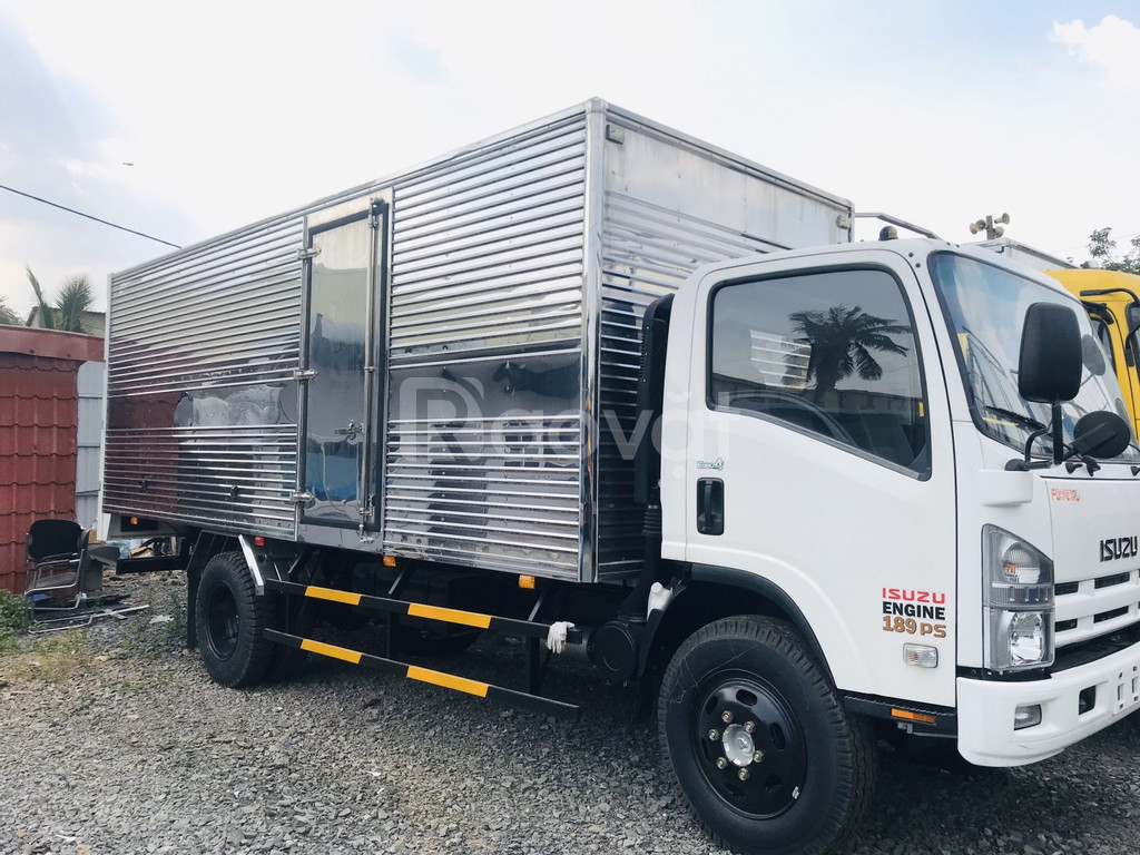 Xe tải isuzu thùng dài trên 6 mét
