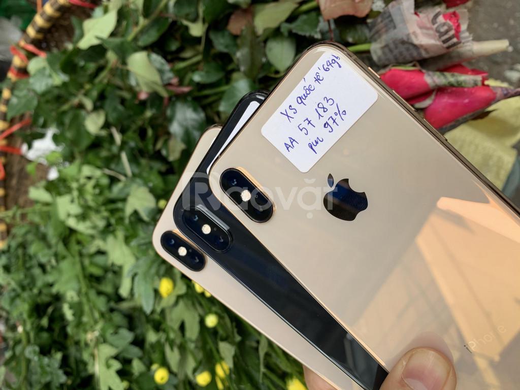 Điện thoại iphone XS quốc tế 64gb hàng 99% như mới, nguyên zin