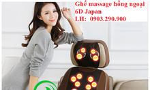 Ghế massage lưng Nhật Bản 6D TP900 Eneck bảo hành 5 năm