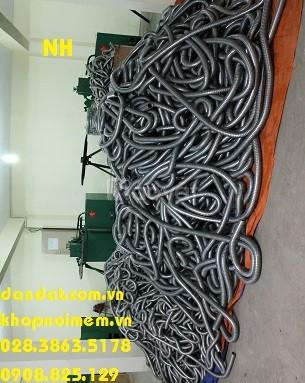Ống thép luồn dây điện/ Ruột gà/ ống ruột gà bọc nhựa bọc lưới